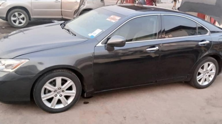 Foreign Used Lexus ES 2008 Model Black-8