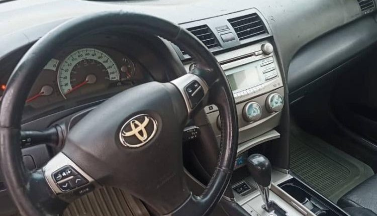 Nigeria Used Toyota Camry 2008 Model Gray-5