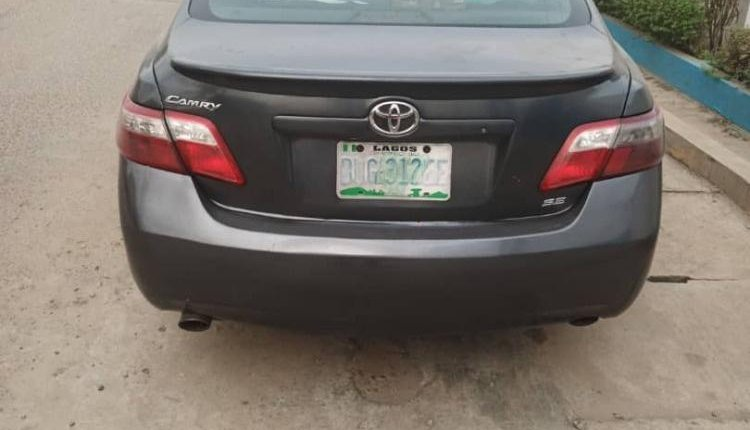 Nigeria Used Toyota Camry 2008 Model Gray-6