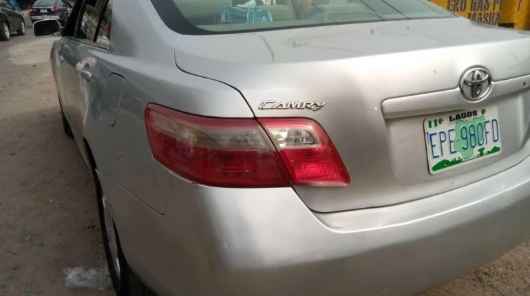 Nigeria Used Toyota Camry 2008 Model Silver -1