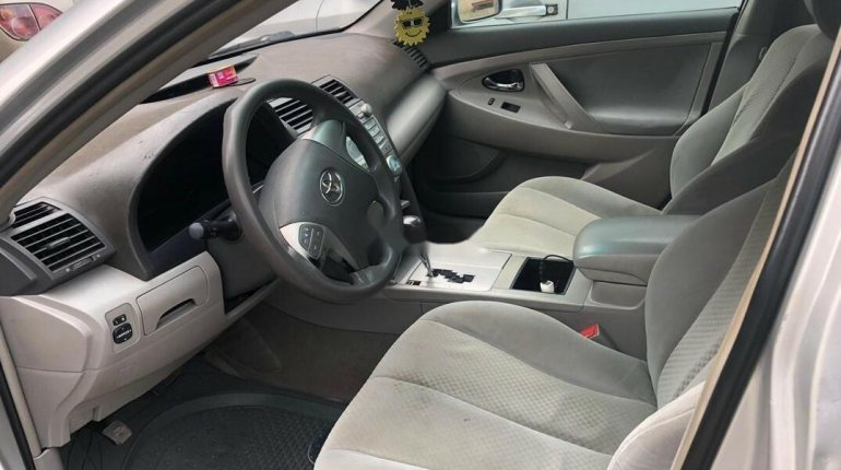 Nigeria Used Toyota Camry 2008 Model Silver -7