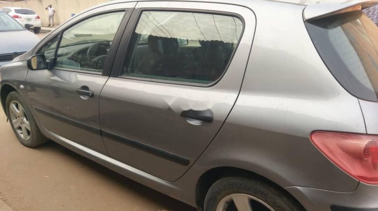 Foreign Used Peugeot 307 2008 Model Gray-2