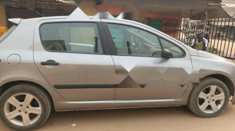 Foreign Used Peugeot 307 2008 Model Gray-1