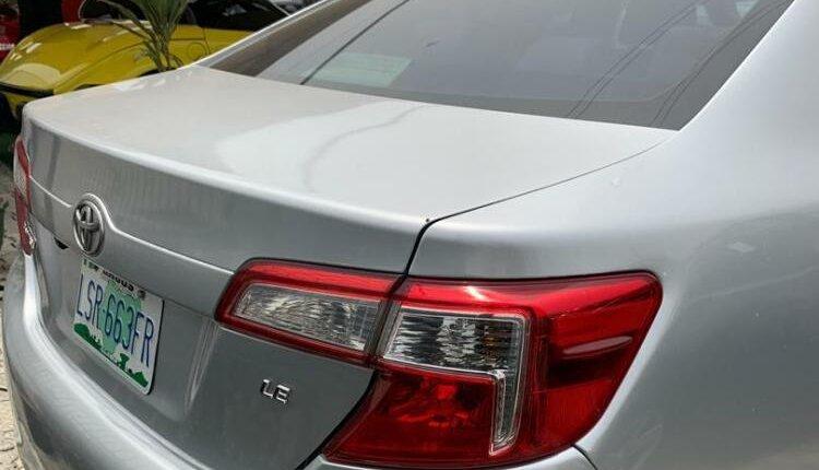 Nigeria Used Toyota Camry 2013 Model Silver-5