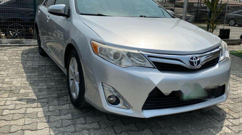 Nigeria Used Toyota Camry 2013 Model Silver-1