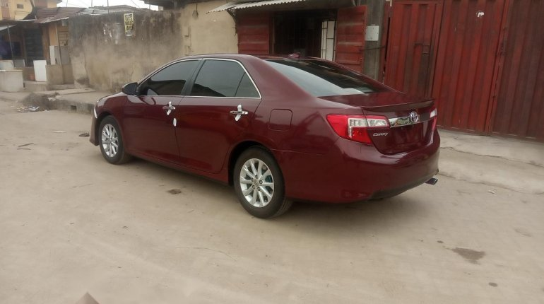 Foreign Used Toyota Camry 2013 Model Red-2