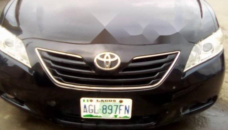 Nigeria Used Toyota Camry 2008 Model Black -0