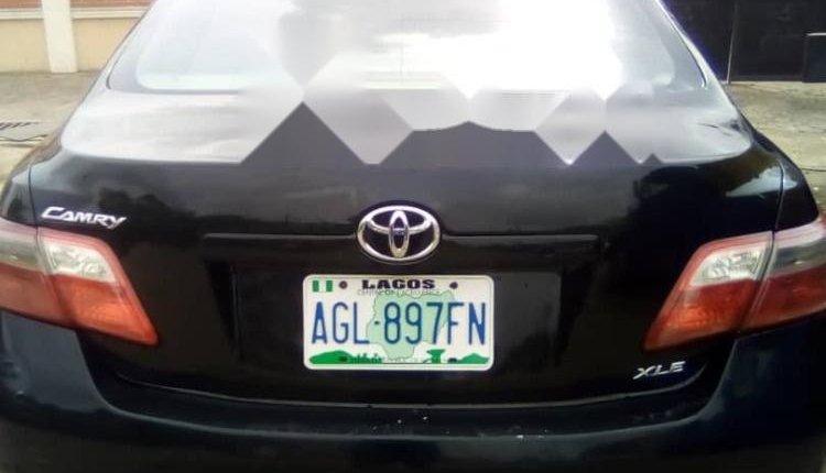 Nigeria Used Toyota Camry 2008 Model Black -6