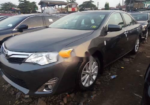 Foreign Used Toyota Camry 2013 Model Gray-3