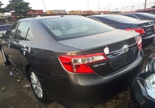 Foreign Used Toyota Camry 2013 Model Gray-2