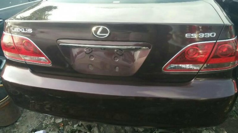Foreign Used Lexus ES 2006 Model Brown-6