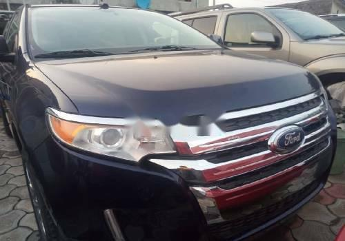 Foreign Used Ford Edge 2011 Model Black -1