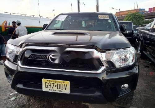 Foreign Used Toyota Tacoma 2013 Model Black -0