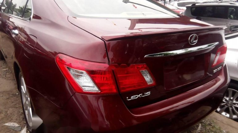 Foreign Used Lexus ES 2008 Model Red-4