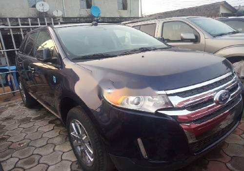 Foreign Used Ford Edge 2011 Model Black -0