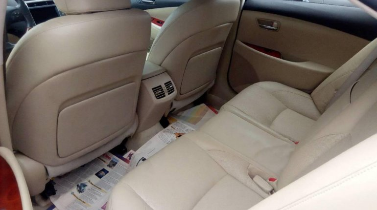 Foreign Used Lexus ES 2008 Model Red-3