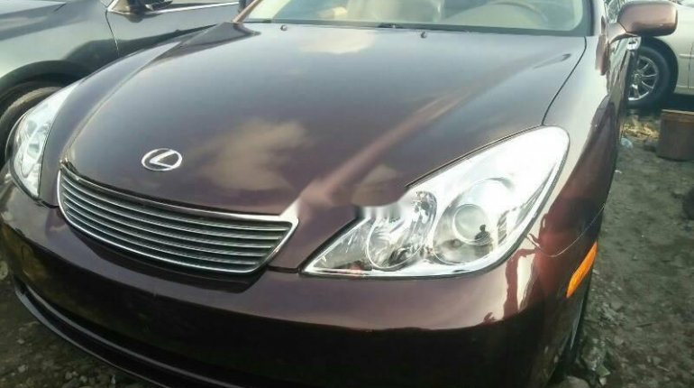 Foreign Used Lexus ES 2006 Model Brown-0