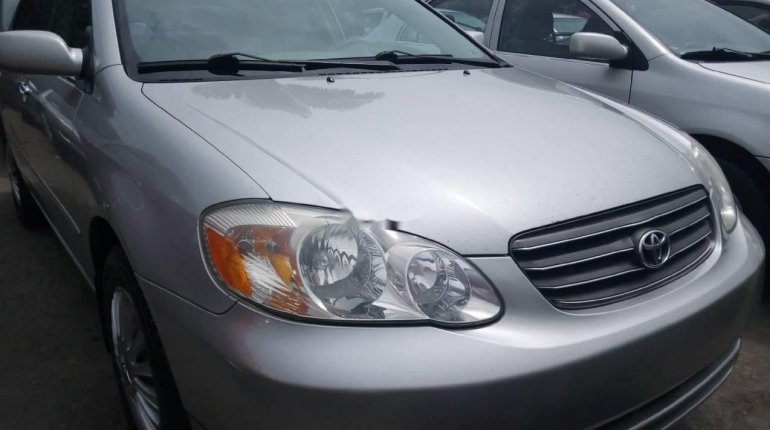 Foreign Used 2006 Silver Toyota Corolla for sale in Lagos. -0