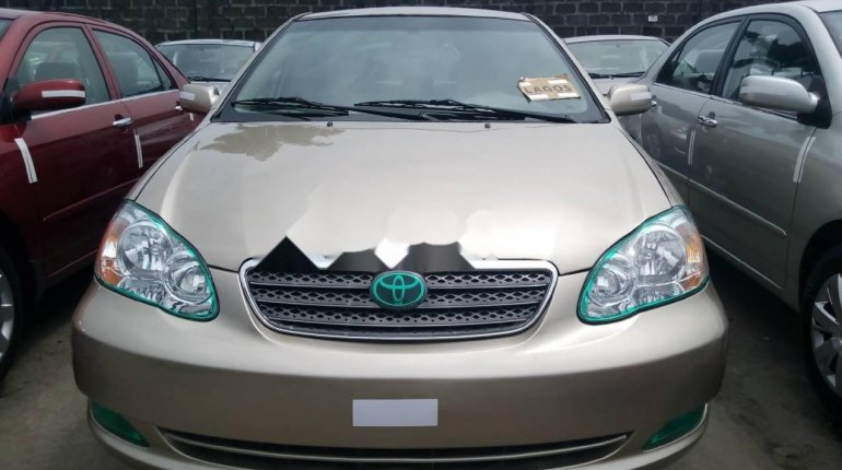 Foreign Used 2007 Gold Toyota Corolla for sale in Lagos. -0