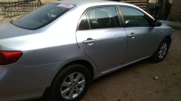 Very Clean Naija Used Manual Toyota Corolla 2008 -6