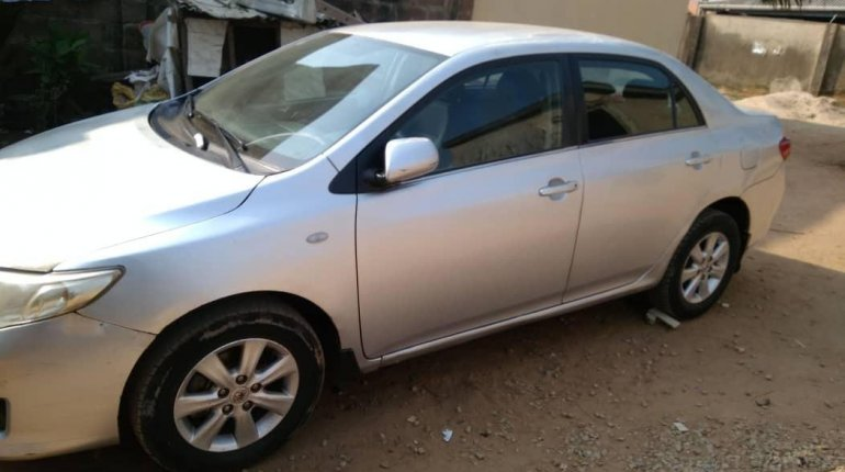 Very Clean Naija Used Manual Toyota Corolla 2008 -5