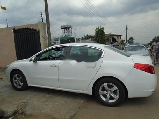 Foreign Used Peugeot 508 2013 Model White-5