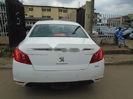 Foreign Used Peugeot 508 2013 Model White-4