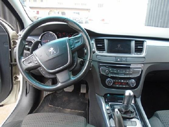 Foreign Used Peugeot 508 2013 Model White-3