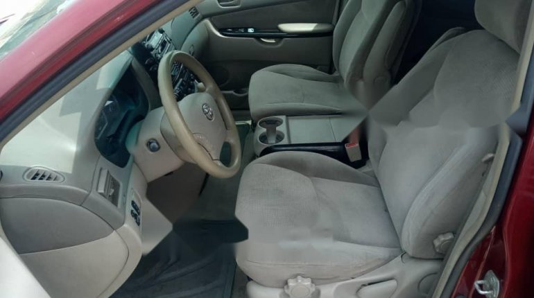 Foreign Used Toyota Sienna 2004 Model Red-4