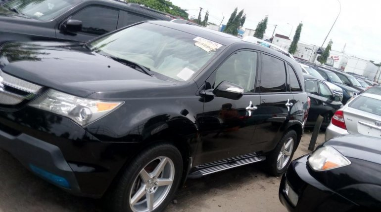 Foreign Used Acura MDX 2009 Model Black-6