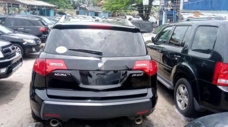 Foreign Used Acura MDX 2009 Model Black-7