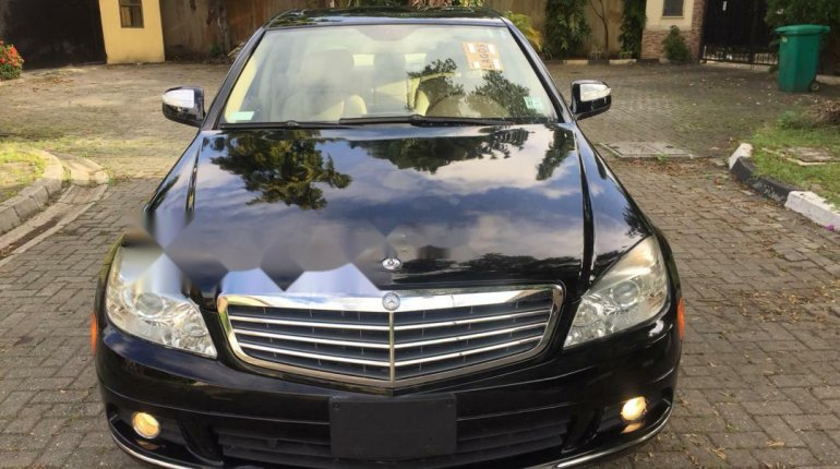 Foreign Used Mercedes-Benz C300 2010 Model Black-0