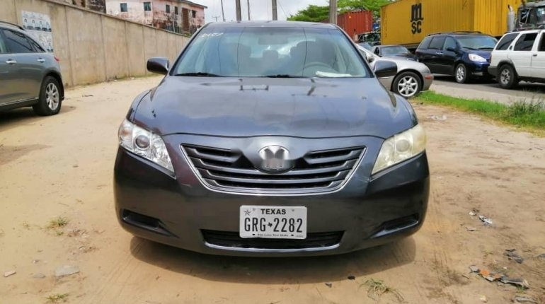 Foreign Used Toyota Camry 2008 Model Gray-0