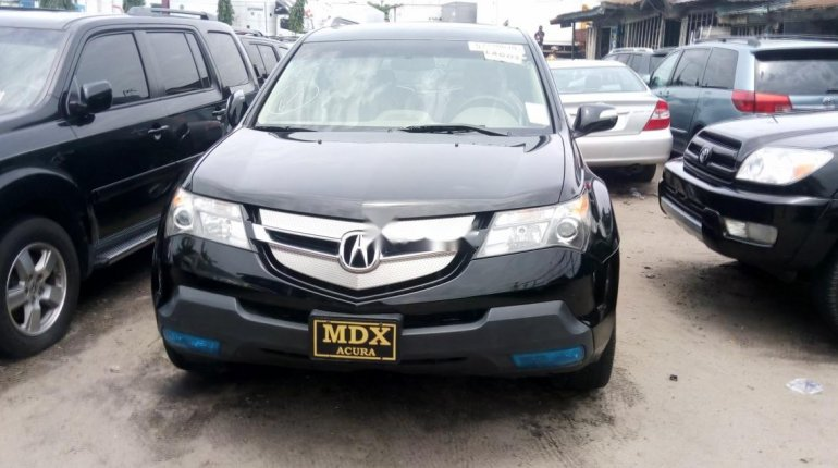 Foreign Used Acura MDX 2009 Model Black-0