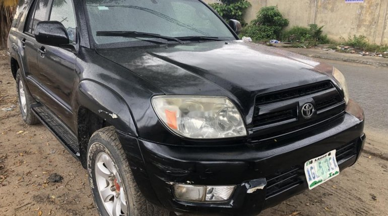 Nigeria Used Toyota 4-Runner 2003 Model Black-0