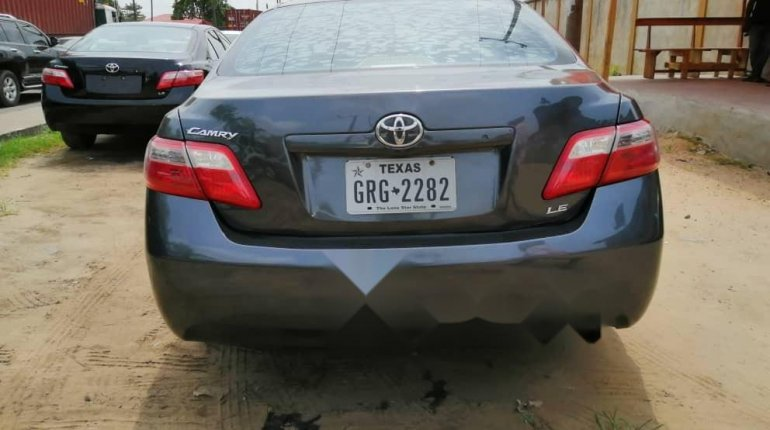 Foreign Used Toyota Camry 2008 Model Gray-6