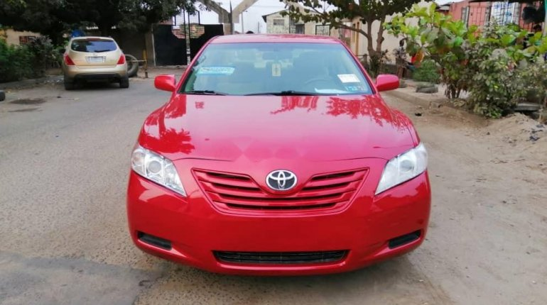Foreign Used Toyota Camry 2008 Model Red -0