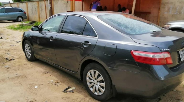 Foreign Used Toyota Camry 2008 Model Gray-7