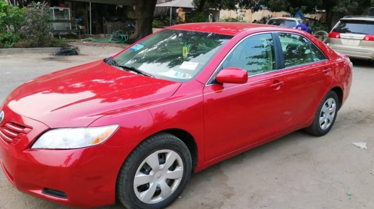 Foreign Used Toyota Camry 2008 Model Red -1