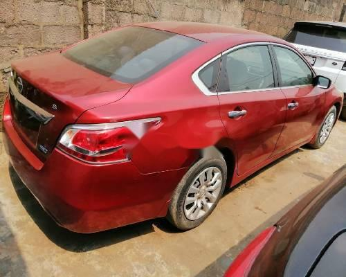 Foreign Used Nissan Altima 2014 Model Red-2