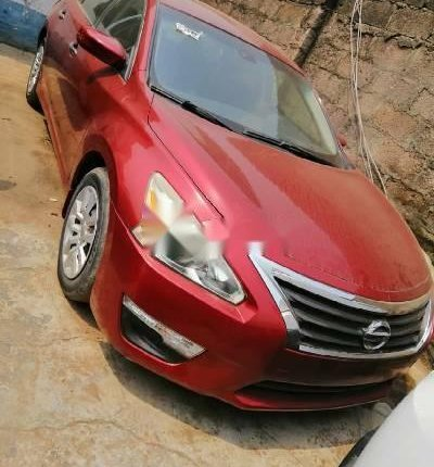 Foreign Used Nissan Altima 2014 Model Red-0