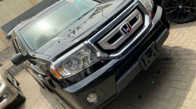 Foreign Used 2009 Black Honda Pilot for sale in Lagos-2