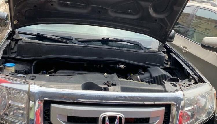 Foreign Used 2009 Black Honda Pilot for sale in Lagos-7