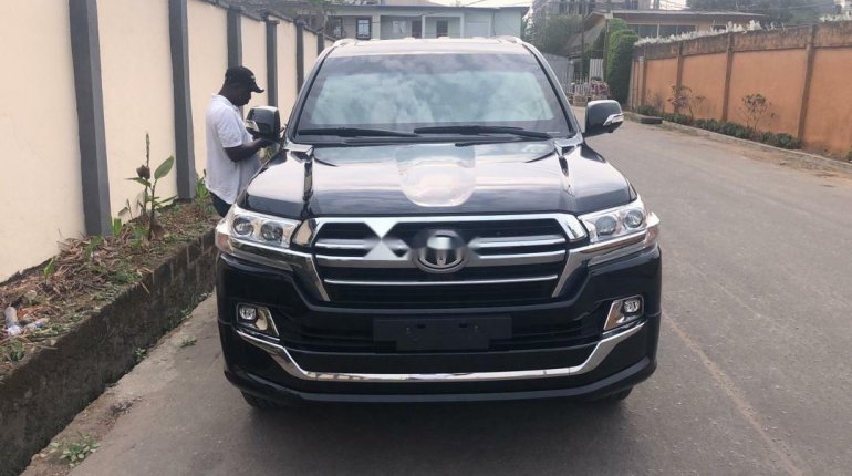 2019 Black Toyota Highlander for sale in Lagos-0