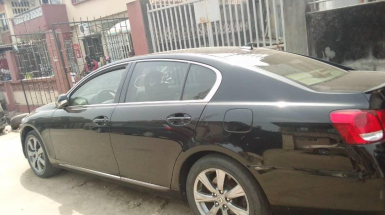 Foreign Used Lexus GS 2010 Model Black -8