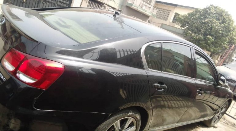 Foreign Used Lexus GS 2010 Model Black -7