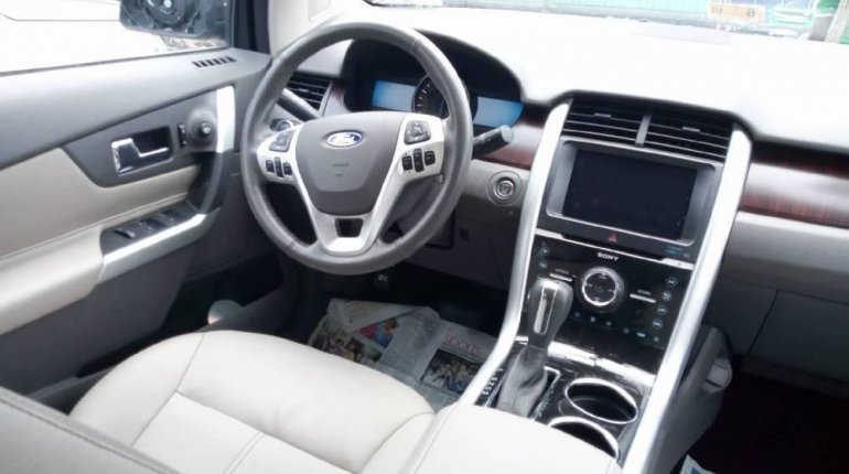 Foreign Used Ford Edge 2012 Model Blue -2