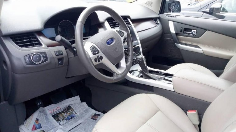 Foreign Used Ford Edge 2012 Model Blue -3