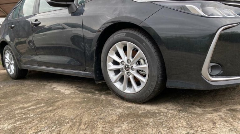 Foreign Used Toyota Corolla 2020 Model Black-4