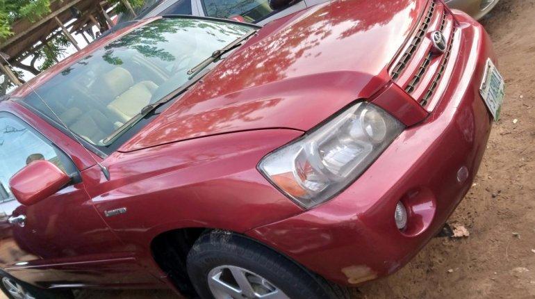 Naija Used 2003 Toyota Highlander for sale-6